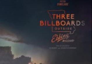 3 bill boards outside Ebbing Missouri poster