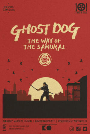 ghost dog poster 2020