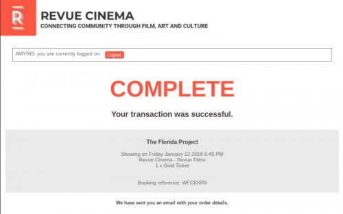 online ticket - order complete - Edited